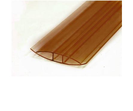 Профиль соединительный НP, 8 мм, L= 6 м, бронза Фотография_0