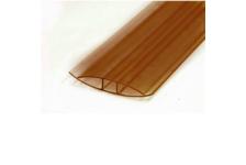Профиль соединительный НP, 10 мм, L= 6 м, бронза