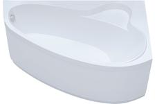 Ванна акриловая Triton Пеарл-шелл угловая левая 1600х1040 мм (каркас, сифон, экран)