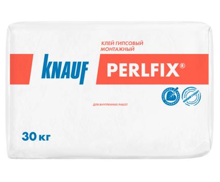 Монтажная смесь KNAUF Перлфикс гипсовая, 30 кг Фотография_0