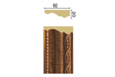 Багет Интерьерный 1М6-7  Vitart 2,4м