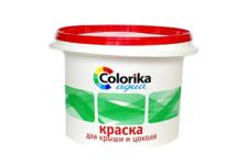 Краска Colorika Agua для крыш и цоколя, зеленая, 3 кг