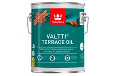 Масло Tikkurila Valtti Terrace Oil для террас и садовой мебели (9 л)