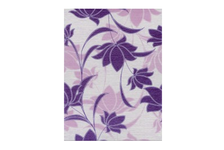 Декор Terracotta.Pro Laura Flowers 200х300 мм, фиолетовый