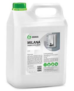 Жидкое крем-мыло Milana 5л (жемчужное) GRASS