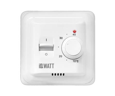 Терморегулятор базовый IQ THERMOSTAT M белый, механич.управл.(IQWATT)