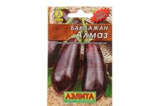 Семена Аэлита Баклажан Алмаз, средний, 0,3 г