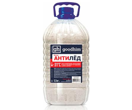 Реагент антигололедный Goodhim 500 №31, сухой (5.5 кг) Фотография_0