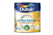 Краска ВД Dulux Ultra Resist КУХНЯ и ВАННАЯ BW матовая 2,5 л