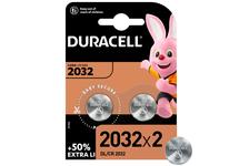 Элемент питания DURACELL CR2032-2BL (уп/2 шт)