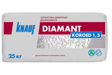 Штукатурка декоративная KNAUF Диамант Короед 1,5 мм, 25 кг