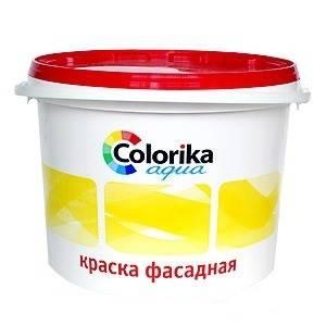 Краска ВД Colorika ECO фасадная белая 14кг