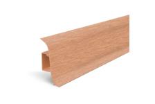 Плинтус для пола Идеал Альфа К45 Дуб/201 (2.5 м)