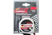 Рулетка Ritter Compact измерительная  5м х 25мм, магнит, двусторонняя, нейлон