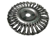 Корщетка-колесо FIT 125 мм, витая