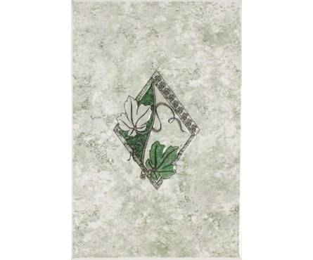 Плитка Кодры декор Минуэт зеленый 200х300 (1 уп. 16 шт) 1 сорт Фотография_0