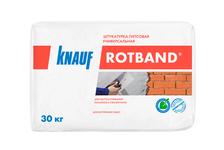 Штукатурка гипсовая KNAUF Ротбанд, универсальная, белая (30 кг)