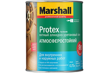 Лак яхтный Marshall Protex  глянцевый водостойкий 0,75 л
