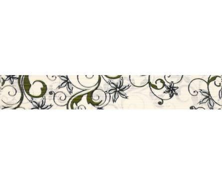 Плитка керамическая Березакерамика Азалия фисташковый фриз 350х54 Фотография_0