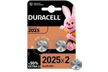 Элемент питания DURACELL CR2025-2BL (уп/2 шт)