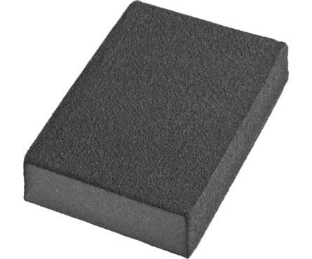 Губки шлифовальные DEXX четырехсторонняя, AL2O3 средняя жесткость, Р180, 100х68х26мм