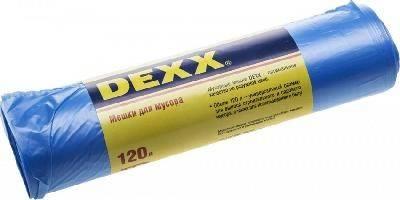 Мешки для мусора DEXX, голубые 120л, 10шт.