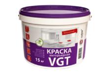 Краска ВД VGT интерьерная влагостойкая 15 кг