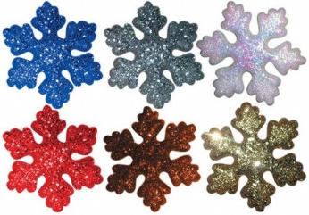 Новогоднее украшение Снежинка Е70591, диаметр 29 см Фотография_0