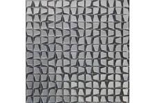 Мозаика Caramelle Mosaic Alchimia TitanioTrapezio 306х306х6 мм, чип 20*20 мм