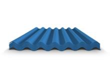 Шифер СВ-40/150-7 1750х980х5,8 (7 волновой) синий (100л)