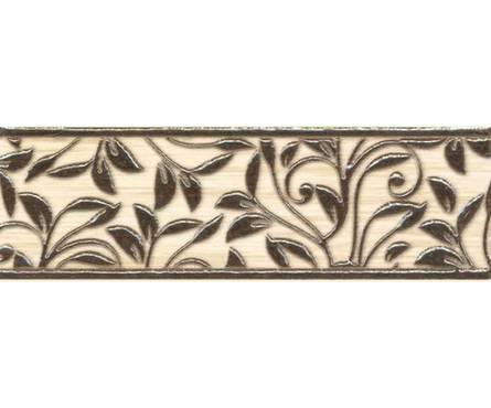 Плитка керамическая Березакерамика Глория бежевый фриз 250х80 Фотография_0