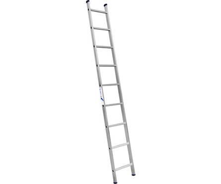 Лестница алюм. 1-но секц. 9 ступеней H1 5109 (высота 251 см, вес 3,2 кг)