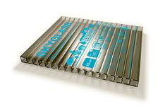 Сотовый поликарбонат SKYGLASS 6 мм, бронза 12 х 2,1 м