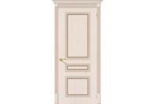 Дверь BRAVO Стиль Ф-22 Беленый дуб, 200*70 см, глухое полотно