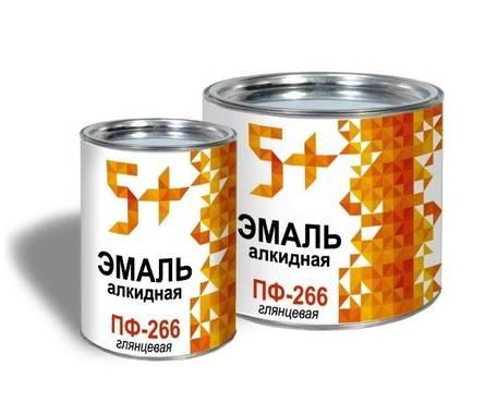 Эмаль для пола золотисто-желтая 5+ ПФ-266 25 кг