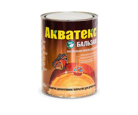 МАСЛО  Акватекс-бальзам махагон 0,75л
