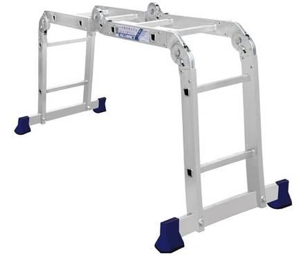 Лестница-трансформер алюминиевая 4*2 ступ. TL 4022 Фотография_0