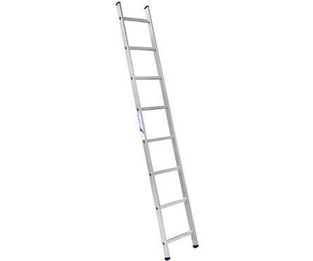 Лестница алюм. 1-но секц. 8 ступеней H1 5108 (высота 223 см, вес 2,9 кг)