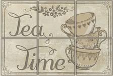 Декор Terracotta.Pro Vintage Voyage Tea Time 300х200 мм