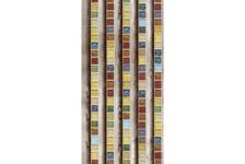 Панель ПВХ Майолика лазурная 530/1, 2700x250x8 мм (0,675 кв.м)