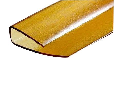 Профиль торцевой UP 6 мм, коричневый 2,1 м БСТ Фотография_0