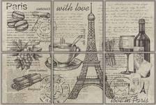 Декор Terracotta.Pro Vintage Voyage Paris 300х200 мм