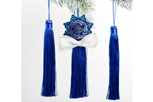 Набор подвесок-кисточек «Снежинка»