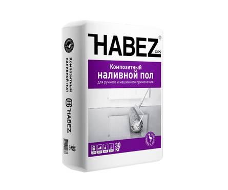 Пол HABEZ композитный самонивелирующийся, 30 кг (от 5 до 50мм)  Фотография_0