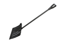 Лопата для уборки снега Usp 460х340 мм, длина 130 см, с металлическим черенком