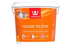 Краска акриловая Tikkurila FACADE SILICON для фасадов и цоколей, база C (2.7 л)