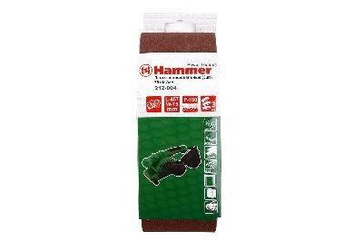 Лента шлифовальная Hammer Flex 212-004 75 Х 457 Р 100 3 шт