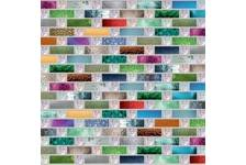 Панель ПВХ 948х480мм Мозаика Радуга (30шт/упак)