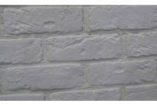Гипсовая плитка Кирпич Саман, 300-00 белый, 6,5х20 см, 0,5м2 (33 штуки)