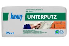 Штукатурка KNAUF Унтерпутц цементная фасадная 25 кг